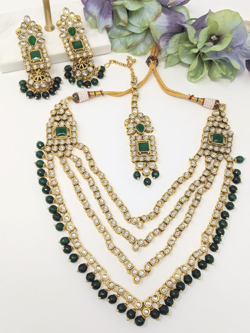 Round Layered Necklace Set - East Boutique