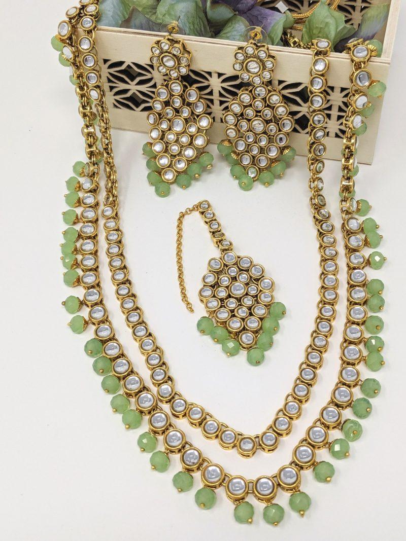 Double Layer Necklace Set - East Boutique