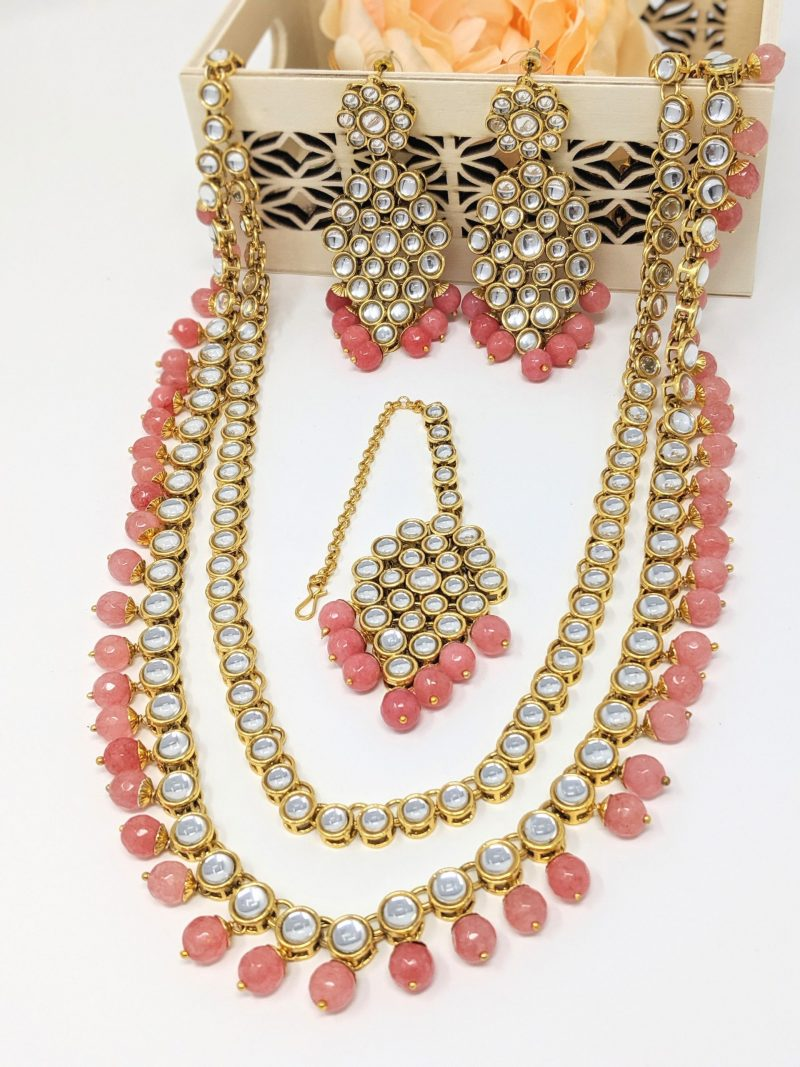 Double Layer Necklace Set - East Boutique