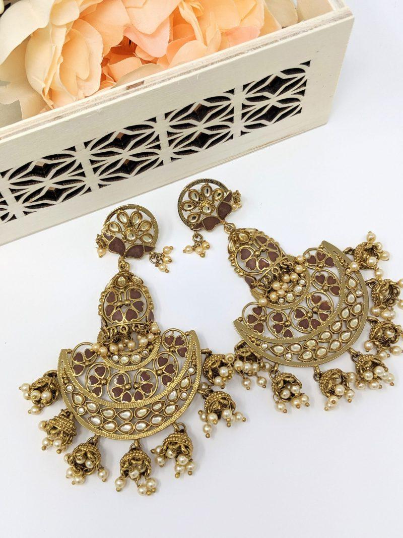 Gharara Earrings - East Boutique
